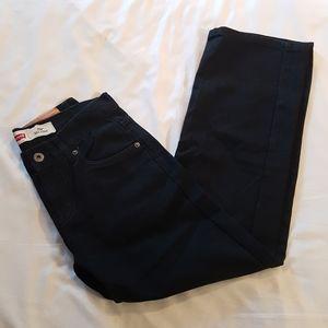 Levi's 550 black jeans boys size 10